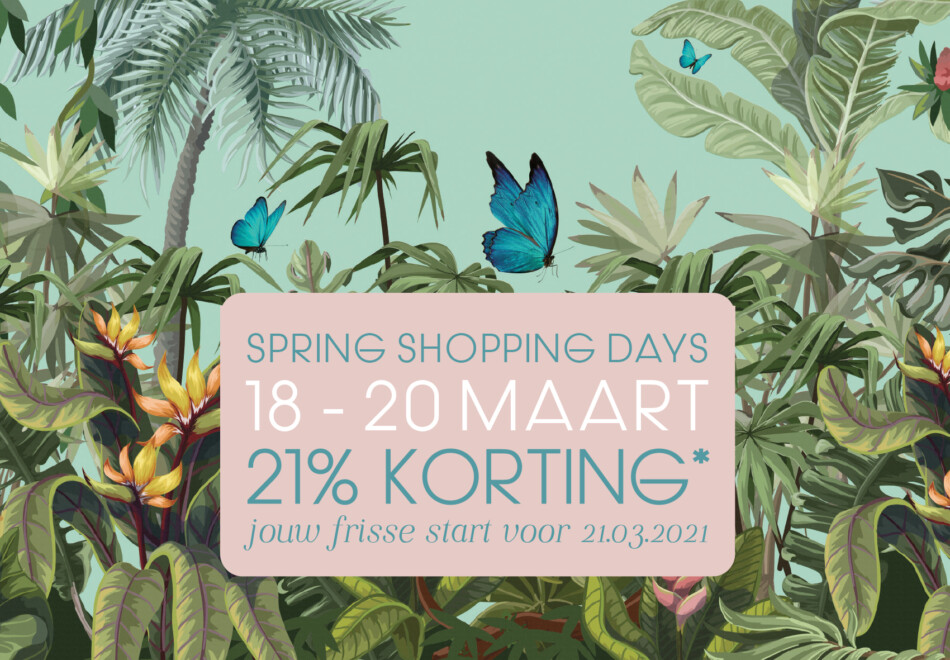 Spring Shopping Days 2021